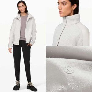Lululemon Go Cozy Heathered Ceramic Sherpa Jacket